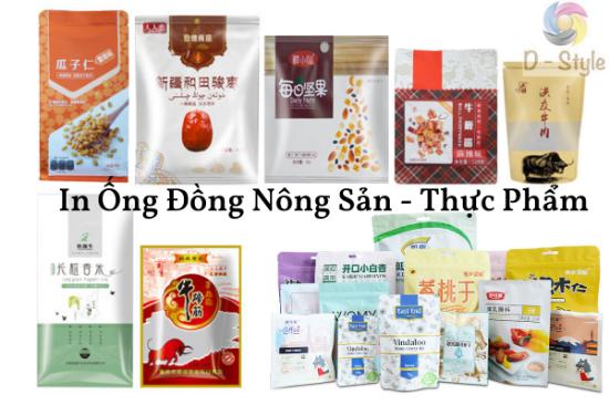 In Ống Đồng Thực Phẩm
