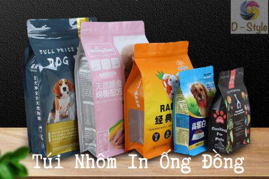 Túi Nhôm In Ống Đồng