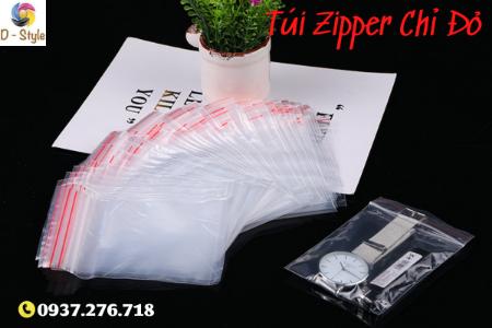 Hình ảnh nhóm sản phẩm Túi Zipper Chỉ Đỏ